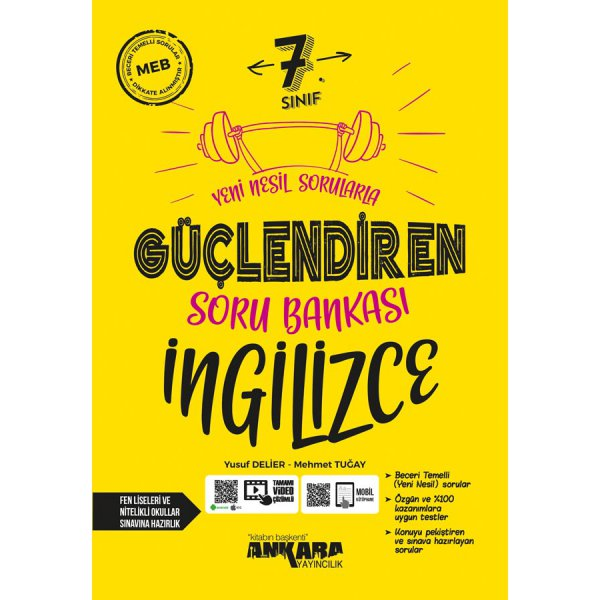 7. Sınıf İngilizce Güçlendiren Soru Bankası Ankara Yayıncılık