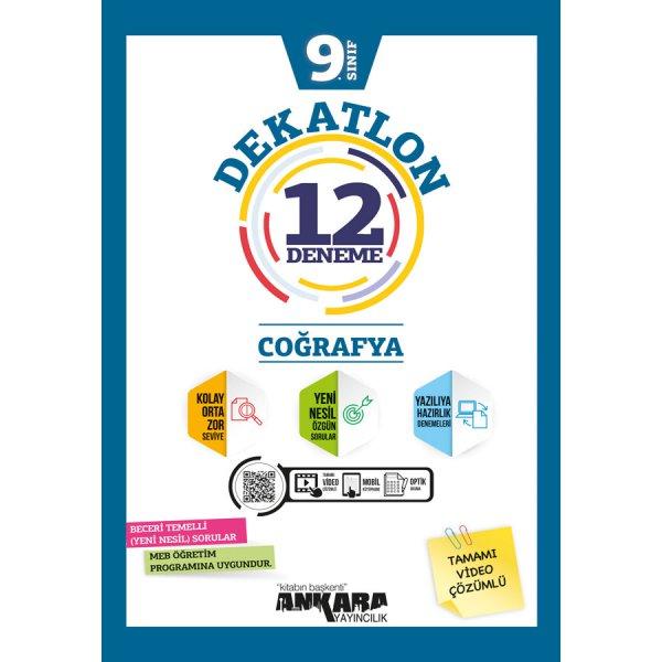 9. Sınıf Coğrafya Dekatlon Denemeleri 12 Adet Ankara Yayıncılık