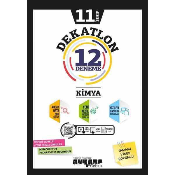 11. Sınıf Kimya Dekatlon 12 Deneme Ankara Yayıncılık