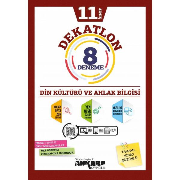 11. Sınıf Din Kültürü ve Ahlak Bilgisi Dekatlon 12 Deneme Ankara Yayıncılık
