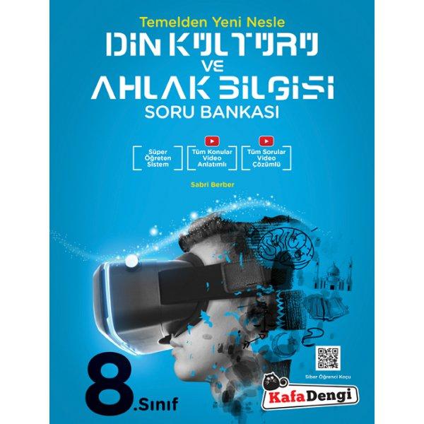 8. Sınıf Din Kültürü ve Ahlak Bilgisi Soru Bankası Kafa Dengi Yayınları