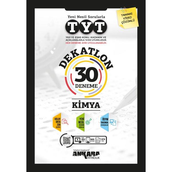 TYT Dekatlon Kimya 30 Deneme Ankara Yayıncılık