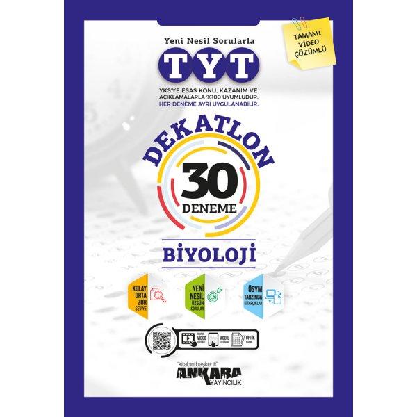TYT Dekatlon Biyoloji 30 Deneme Ankara Yayıncılık