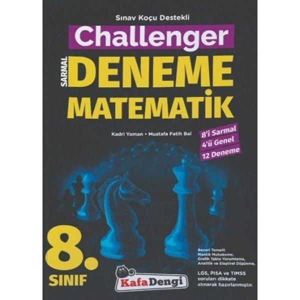 8. Sınıf LGS Matematik Challenger Sarmal Deneme Kafa Dengi Yayınları