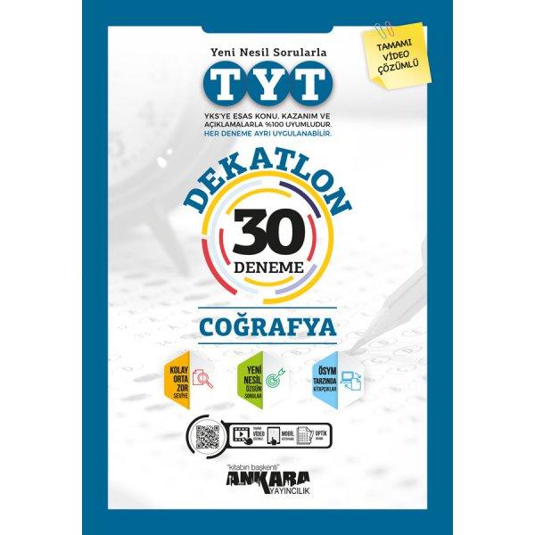 TYT Dekatlon Coğrafya 30 Deneme Ankara Yayıncılık