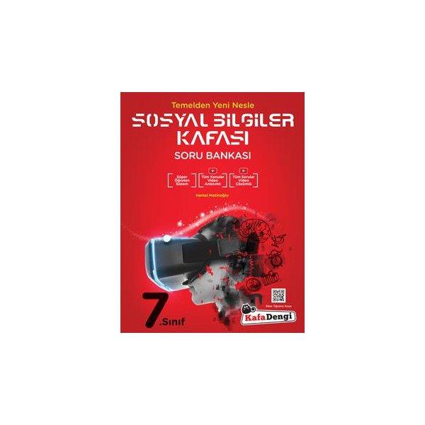 Kafa Dengi Yayınları 7. Sınıf Sosyal Bilgiler Kafası Soru Bankası