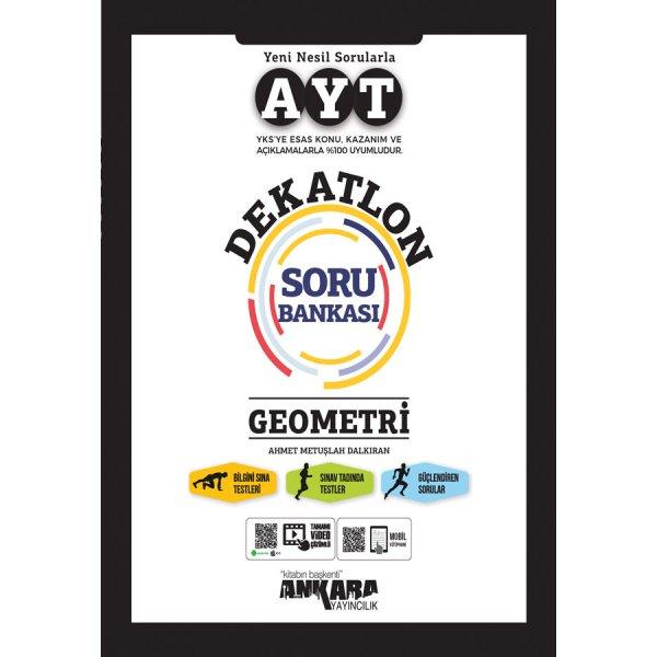 AYT Geometri Dekatlon Soru Bankası Ankara Yayıncılık