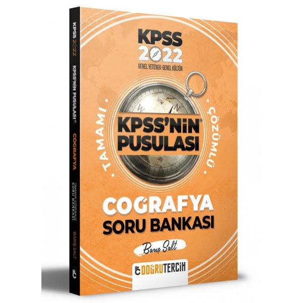 2022 KPSS'nin Pusulası Coğrafya Soru Bankası Doğru Tercih Yayınları