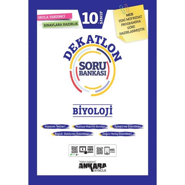 10. Sınıf Biyoloji Dekatlon Soru Bankası Ankara Yayıncılık