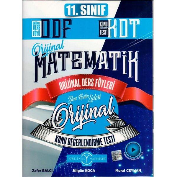 11. Sınıf Matematik ODF KDT Seti Orijinal Yayınları
