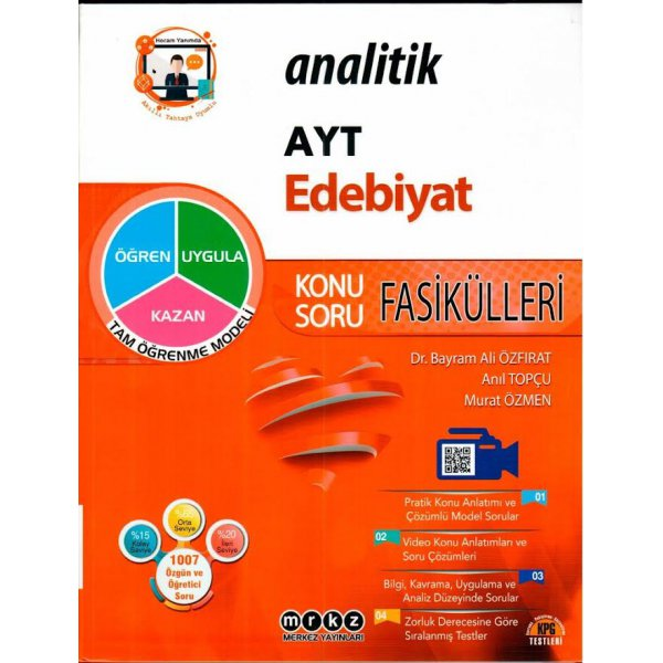 TYT AYT Edebiyat Analitik Konu Soru Fasikülleri Merkez Yayınları
