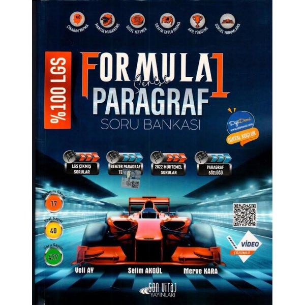 8. Sınıf LGS Paragraf Formula 1 Serisi Soru Bankası Son Viraj Yayınları