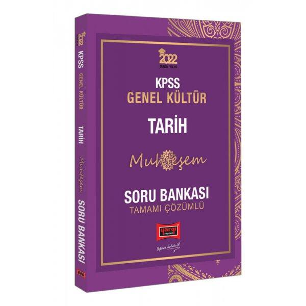 2022 KPSS Genel Kültür Muhteşem Tarih Tamamı Çözümlü Soru Bankası Yargı Yayınları