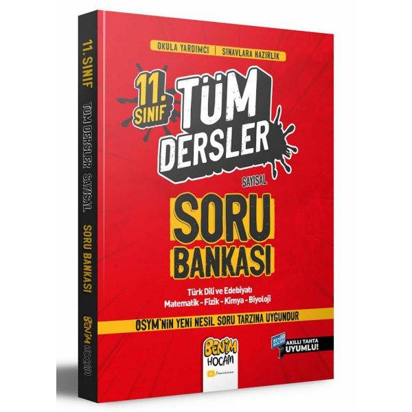 11. Sınıf Sayısal Tüm Dersler Soru Bankası Benim Hocam Yayınları