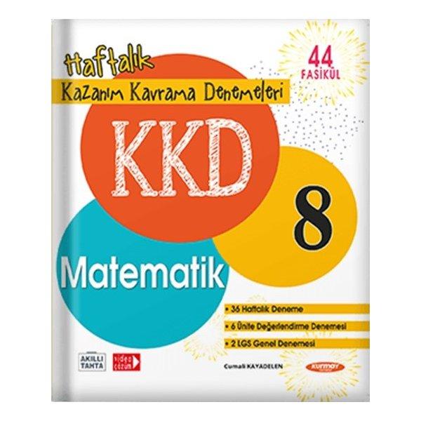 8. Sınıf LGS Matematik KKD Haftalık Kazanım Kavrama Denemeleri Kurmay ELT Yayınları