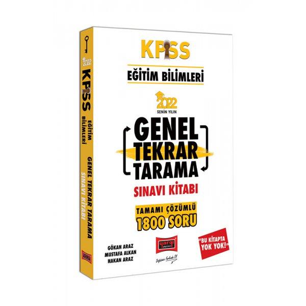 2022 KPSS Eğitim Bilimleri Tamamı Çözümlü Genel Tekrar Tarama Sınavı Kitabı Yargı Yayınları