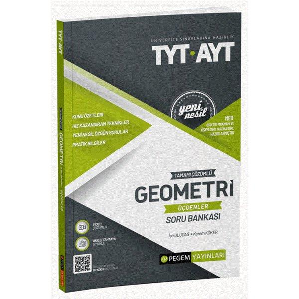 TYT AYT Geometri (Üçgenler) Soru Bankası Pegem Akademi Yayınları