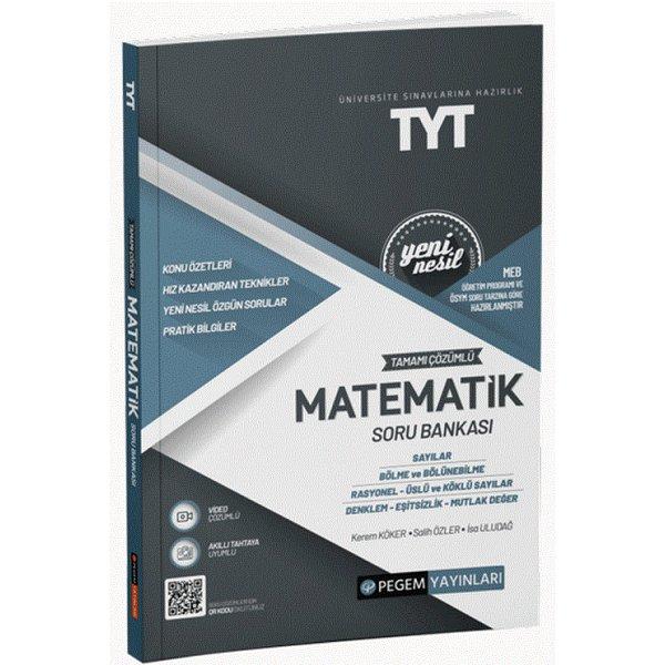 TYT Matematik Soru Bankası Pegem Yayınları