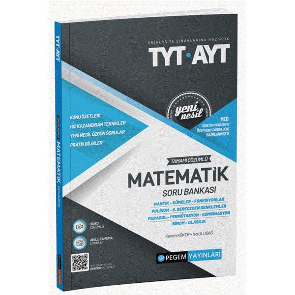 TYT AYT Matematik Soru Bankası Pegem Akademi Yayınları