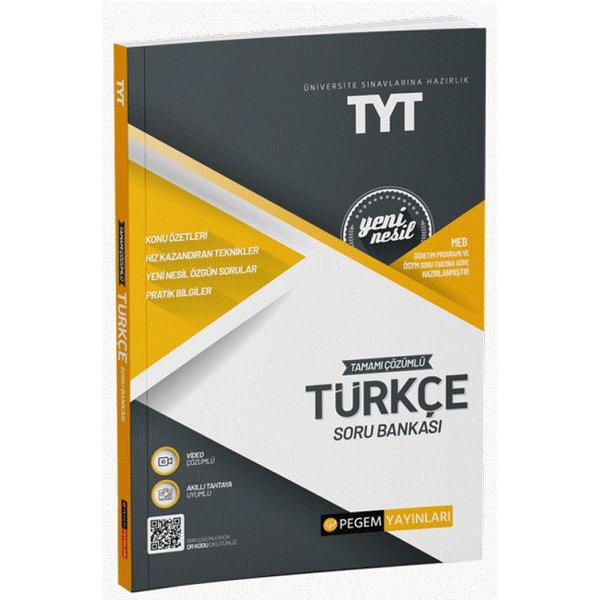 TYT Türkçe Soru Bankası Çözümlü Pegem Akademi Yayınları
