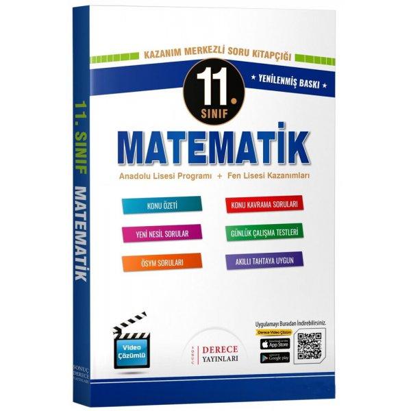 11. Sınıf Matematik Modüler Set Sonuç Derece Yayınları