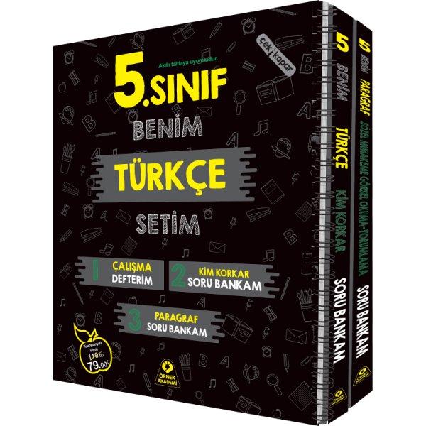5. Sınıf Benim Türkçe Setim Önrek Akademi