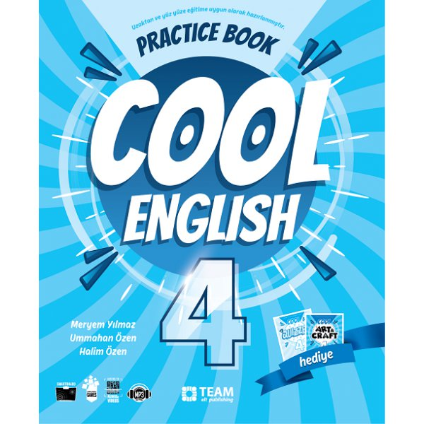 4. Sınıf Cool English Practice Book Team Elt Publishing