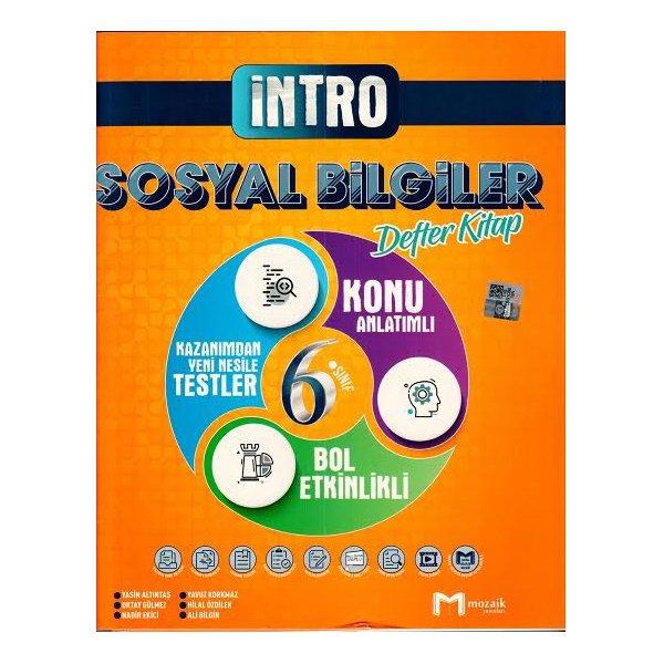 6. Sınıf Sosyal Bilgiler İntro Defter Kitap Mozaik Yayınları