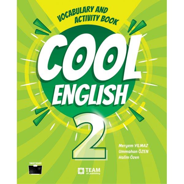 2. Sınıf Cool English Vocabulary and Activity Book Team Elt Publishing