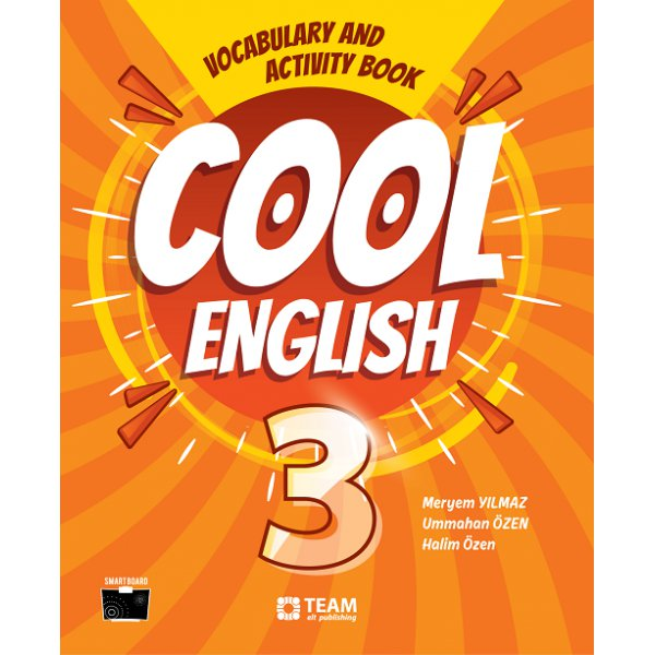 3. Sınıf Cool English Vocabulary And Activity Book Team Elt Publishing