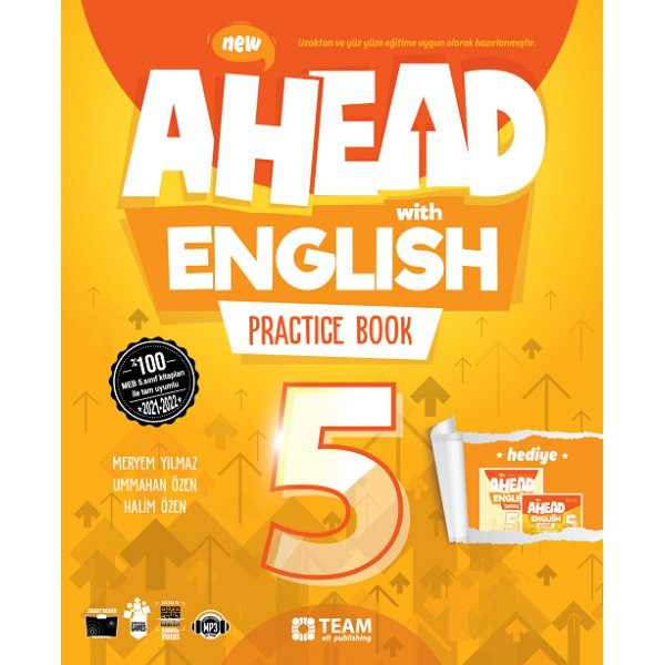 5. Sınıf Ahead With English Practice Book Team Elt Publishing