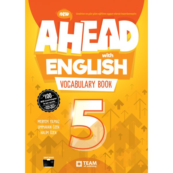 5. Sınıf Ahead With English Vocabulary Book Team Elt Publishing