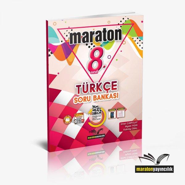 8.Sınıf LGS Türkçe Soru Bankası Maraton  Yayınları