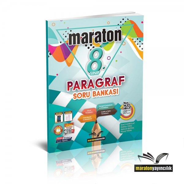 8.Sınıf LGS Paragraf Soru Bankası Maraton Yayınları