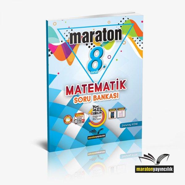 8.Sınıf LGS Matematik Soru Bankası Maraton  Yayınları