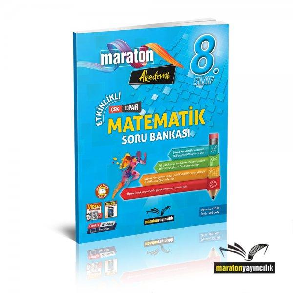8.Sınıf LGS Etkinlikli Matematik Soru Bankası Maraton Yayınları