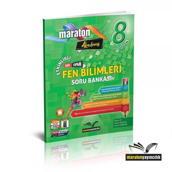 8.Sınıf LGS Etkinlikli Fen Bilimleri Soru Bankası Maraton Yayınları