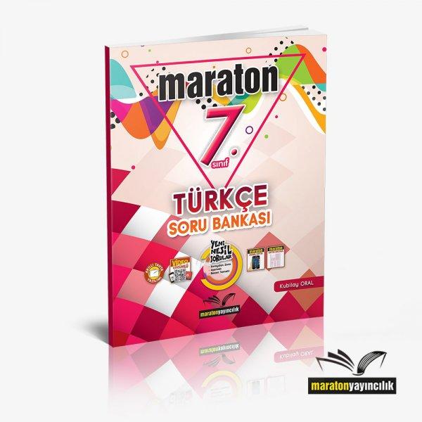 7.Sınıf Türkçe Soru Bankası Maraton Yayınları