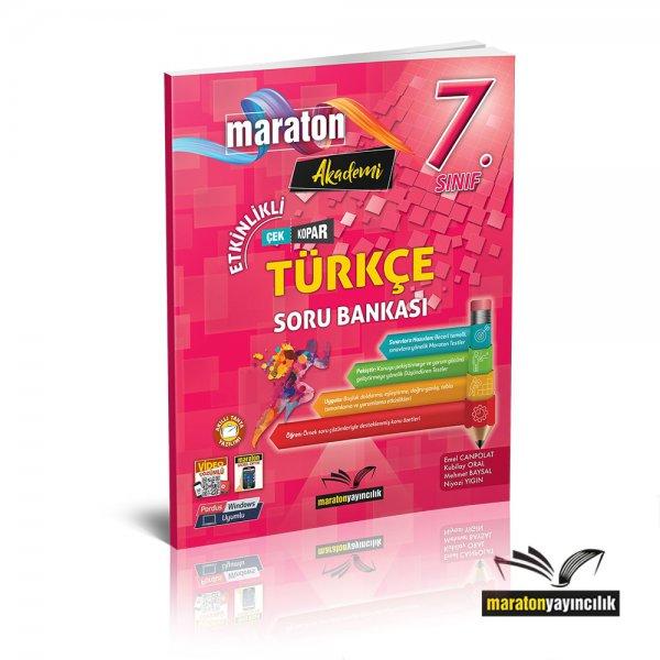 7.Sınıf Etkinlikli Türkçe Soru Bankası Maraton Yayınları
