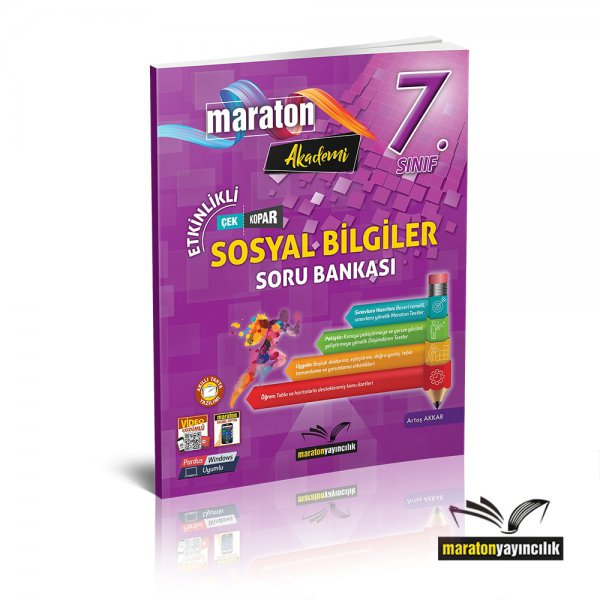 7.Sınıf Etkinlikli Sosyal Bilgiler Soru Bankası Maraton Yayınları