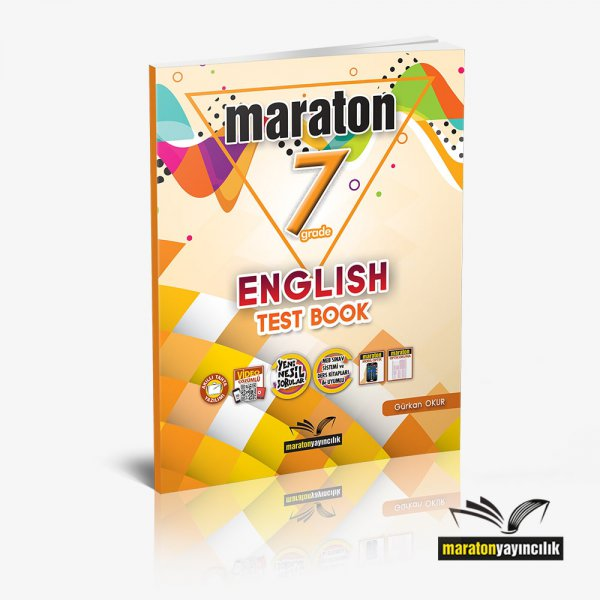 7. Sınıf English Test Book Maraton Yayınları