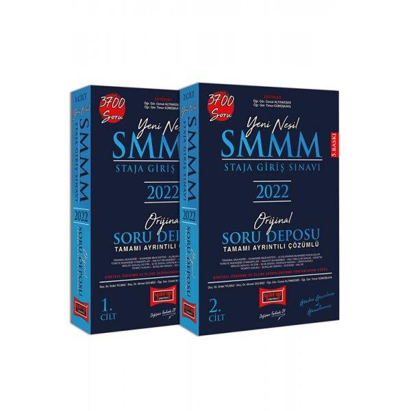 2022 SMMM Staja Giriş Sınavı Tamamı Ayrıntılı Çözümlü Orijinal Soru Deposu 2 Cilt 5. Baskı Yargı Yayınları