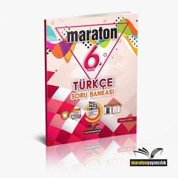 6.Sınıf Türkçe Soru Bankası Maraton Yayınları