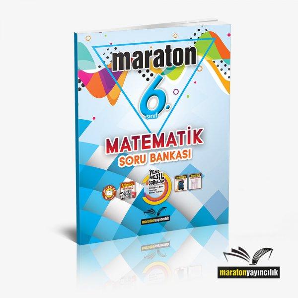 6.Sınıf Matematik Soru Bankası Maraton Yayınları