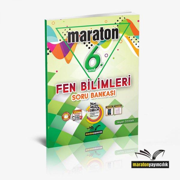 6.Sınıf Fen Bilimleri Soru Bankası Maraton Yayınları
