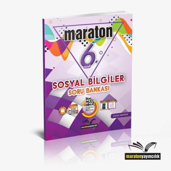 6.Sınıf Sosyal Bilgiler Soru Bankası Maraton Yayınları