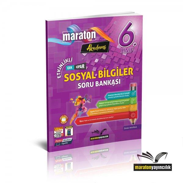 6.Sınıf Etkinlikli Sosyal Bilgiler Soru Bankası Maraton Yayınları