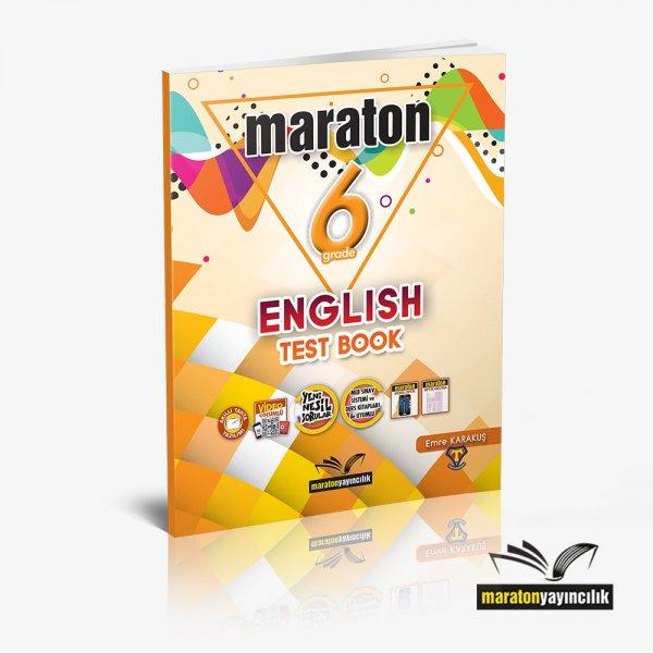 6. Sınıf English Test Book Maraton Yayınları