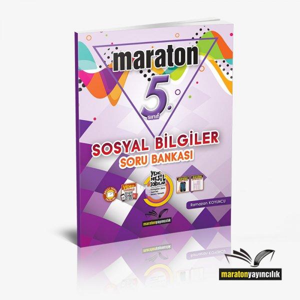 5.Sınıf Sosyal Bilgiler Soru Bankası Maraton Yayınları