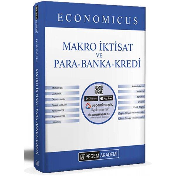 2022 KPSS A Grubu Economicus Makro İktisat ve Para-Banka-Kredi Konu Anlatımı Pegem Yayınları